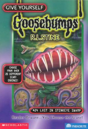 Lost In Stinkeye Swamp by R L Stine