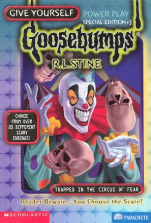 Trapped In The Circus Of Fear by R L Stine