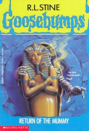 Return Of The Mummy by R L Stine