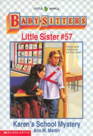 Karen's School Mystery by Ann M Martin