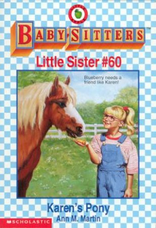 Karen's Pony by Ann M Martin