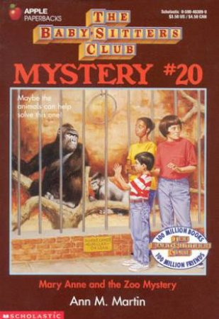 Mary Anne And The Zoo Mystery by Ann M Martin
