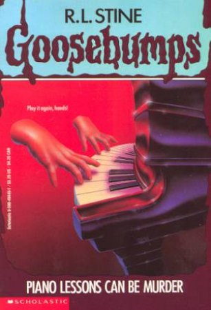 Goosebumps 13: Piano Lessons Can Be Murder
