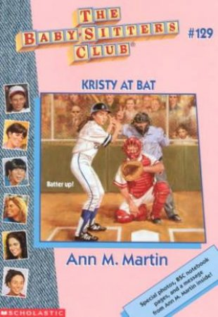 Kristy At Bat by Ann M Martin