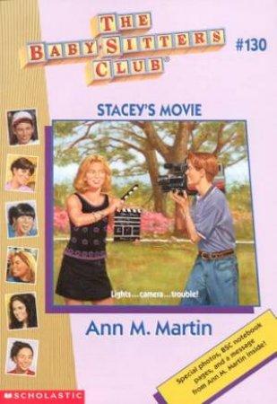 Stacey's Movie by Ann M Martin