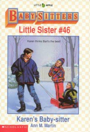 Karen's Baby-sitter by Ann M Martin