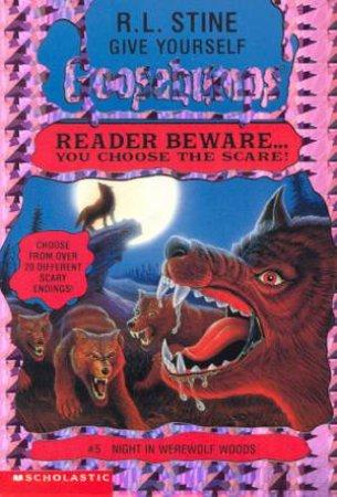 Night In Werewolf Woods by R L Stine