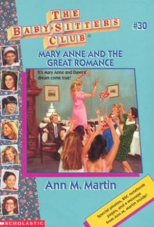 Mary Anne And The Great Romance by Ann M Martin
