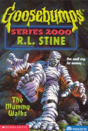 The Mummy Walks by R L Stine