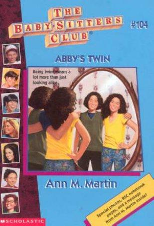 Abby's Twin by Ann M Martin