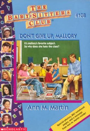 Don't Give Up, Mallory by Ann M Martin