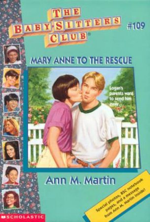 Mary Anne To The Rescue by Ann M Martin