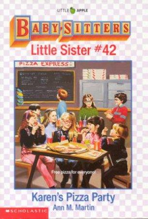 Karen's Pizza Party by Ann M Martin