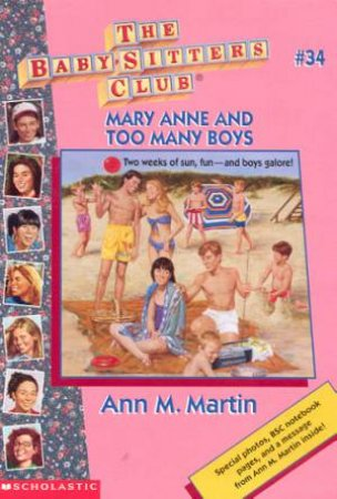 Mary Anne And Too Many Boys by Ann M Martin