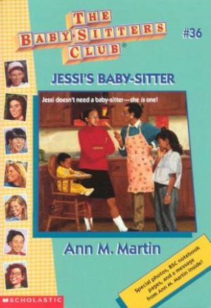 Jessi's Baby-Sitter by Ann M Martin