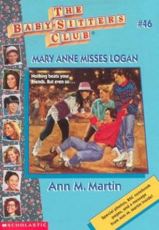 Mary Anne Misses Logan by Ann M Martin