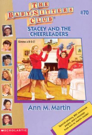 Stacey And The Cheerleaders by Ann M Martin