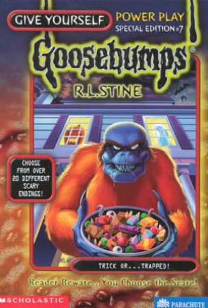 Trick Or . . . Trapped by R L Stine
