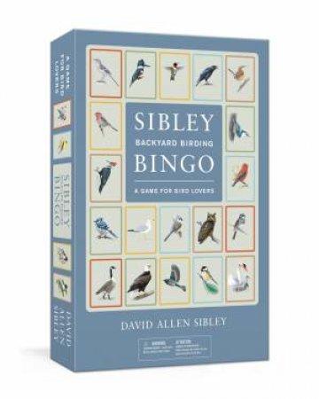 Sibley Backyard Birding Bingo