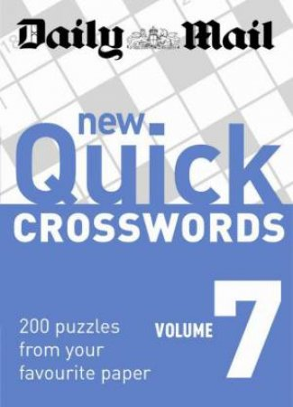 New Quick Crosswords, Vol 7 by Various