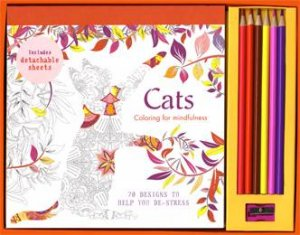 Coloring For Mindfulness: Cats Set