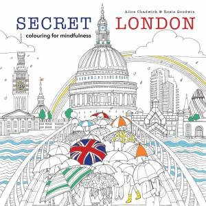Secret London Colouring For The Mindful By Alice Chadwick Rosie Goodwin