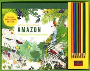 Coloring For Mindfulness: Amazon Set