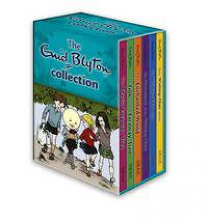 Enid Blyton 6 Book Boxset Faraway Tree & Wishing Chair Collection