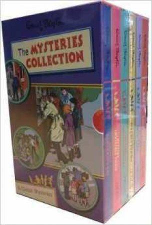 Enid Blyton 6 Book Mysteries Box Set Collection