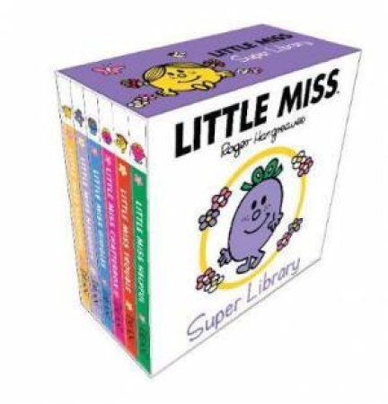Little Miss Super Pocket Library by Adam Hargreaves