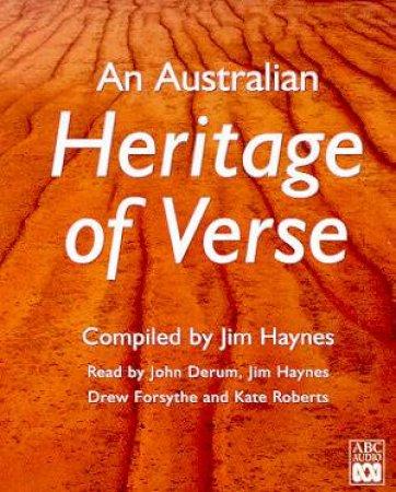 An Australian Heritage Of Verse - Cassette by Jim Haynes