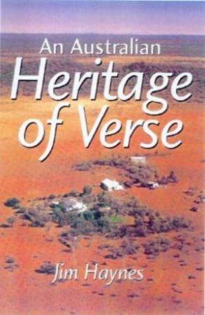 A Heritage Of Australian Verse - CD by Jim Haynes