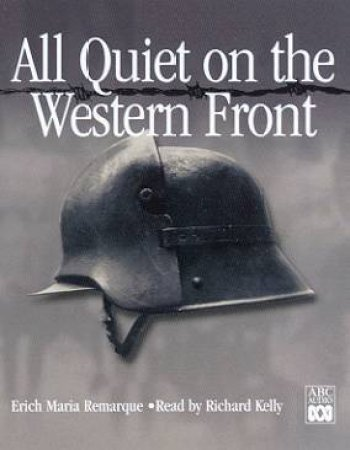 All Quiet On The Western Front - Cassette by Erich Maria Remarque