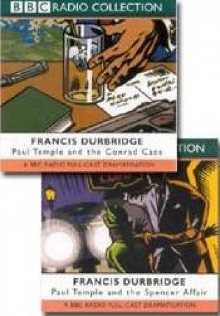 BBC Radio Collection: Paul Temple Mysteries: The Spencer Affair / The Conrad Case - Cassette by Francis Durbridge
