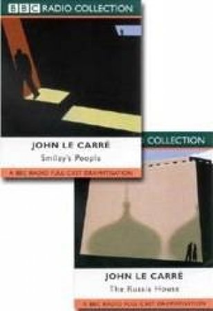BBC Radio Collection: John Le Carre Espionage Thrillers: Smiley's People / The Russia House - Cassette by John Le Carre