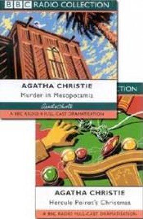 BBC Radio Collection: Hercule Poirot Mysteries: Hercule Poirot's Christmas / Murder In Mesopotamia - CD by Agatha Christie