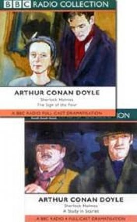 BBC Radio Collection: Sherlock Holmes Mysteries: Sign Of The Four / Study In Scarlet - CD by Arthur Conan Doyle