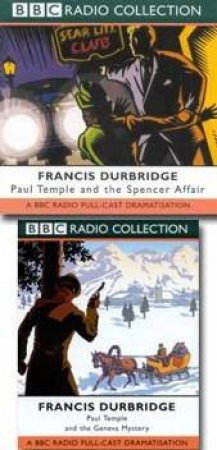 BBC Radio Collection: Paul Temple Mysteries: Geneva Mystery / Spencer Affair - CD by Francis Durbridge