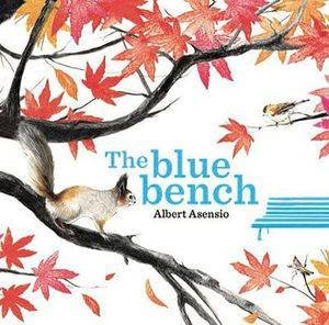 Blue Bench by Albert Asension