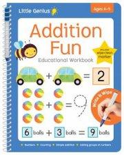 Little Genius Write  Wipe Workbook Addition Fun