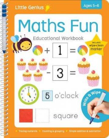 Little Genius Write & Wipe Maths Fun