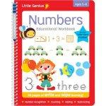 Little Genius Write  Wipe BindUp Workbooks Numbers