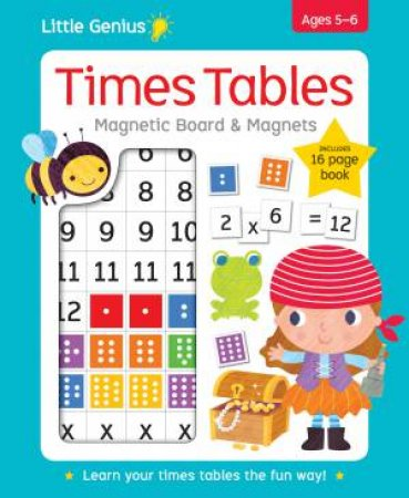 Little Genius Times Tables Magnetic Board & Magnets