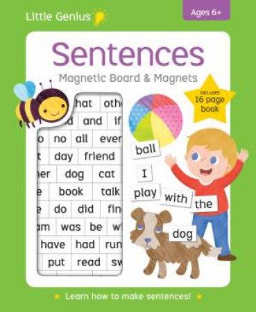 Little Genius Sentences Magnetic Board & Magnets