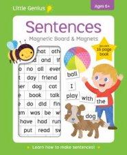 Little Genius Sentences Magnetic Board  Magnets
