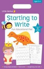 Little Genius Small Pad Starting To Write