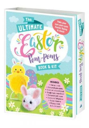 The Ultimate Easter Pom-Poms Book & Kit