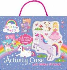 Bubble Sticker Activity Case  Unicorn Magic