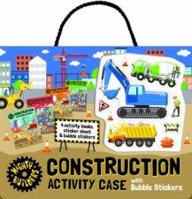 Bubble Sticker Activity Case  Construction