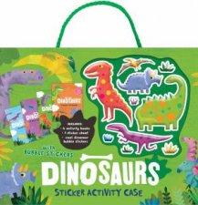 Bubble Sticker Activity Case  Dinosaur
